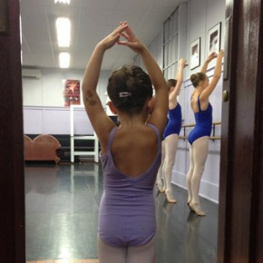 Young Ballet Dance Student