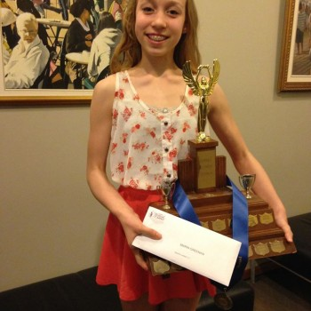 FVAD Pre-Professional Student Marin earns Honors Scholarships at the Surrey Festival of Dance 2015