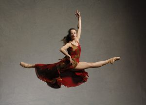 Stephana Arnold flying by David Cooper Photography
