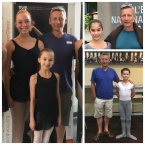 FVAD students invited to ballet company schools across Canada.