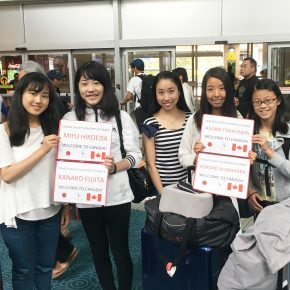 Japanese students arrive for FVAD summer training