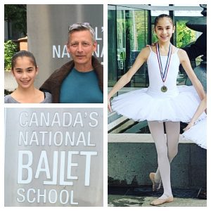 Academy Newsletter August 2017 - FVAD student to train at Canada's National Ballet School