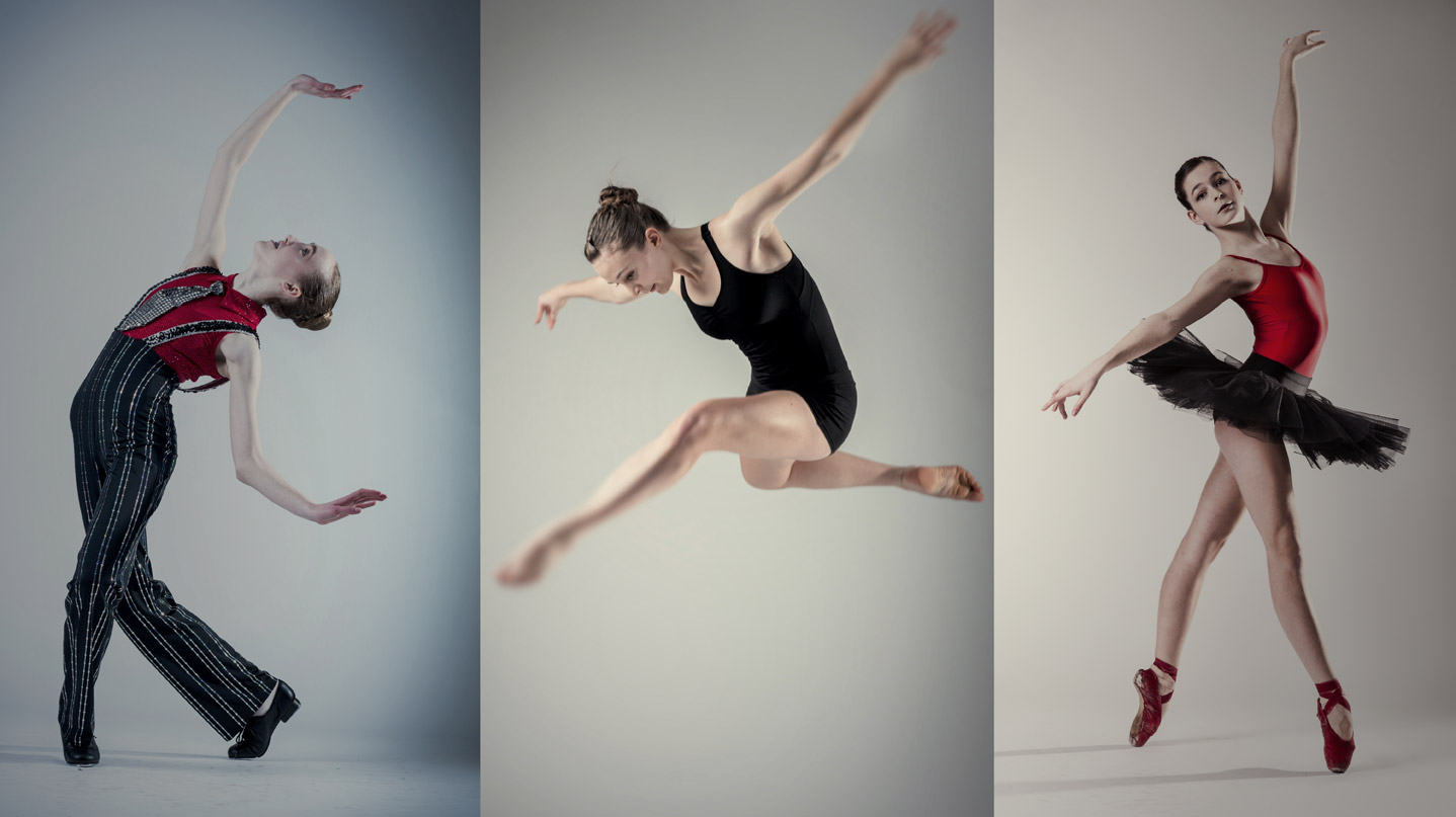 Superior dance training in classical ballet, contemporary, modern and tap.