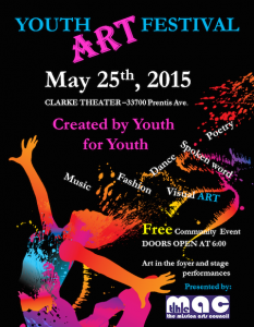 Youth Arts Festival 2015
