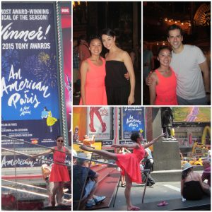 An American in Paris Collage