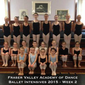 Ballet Intensives 2015 - Week 2