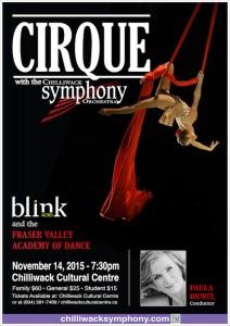 Chilliwack Symphony Orchestra and Chorus - November 14th
