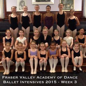 Ballet Intensives 2015 Wk3