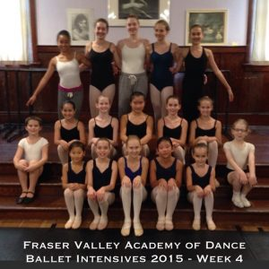 Final Summer Session for 2015 - Ballet Intensives
