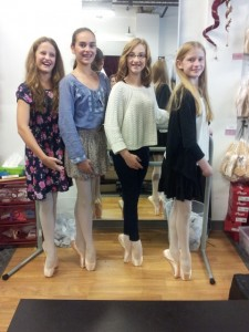First Pointe Shoe Fittings 2015