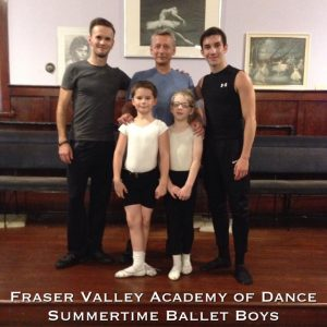 Summer Ballet Boys 2015