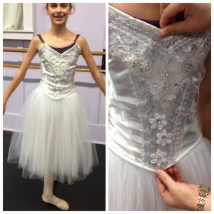 new Nutcracker snowflakes costumes