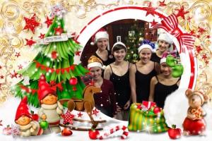 Pre-School Merry Xmas Card 2015