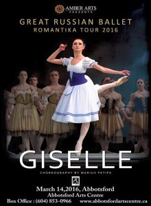 Giselle - Great Russian Ballet - 2016