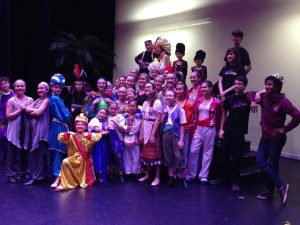 Aladdin Jr 2016 Cast - Post-show