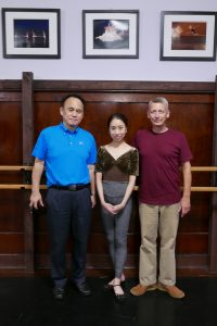Mr Kobayashi visits FVAD with Mr Carney and Miss Seira