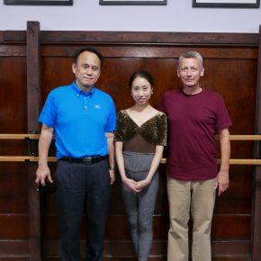 Mr Kobayashi visits FVAD with Mr Carney and Miss Seira