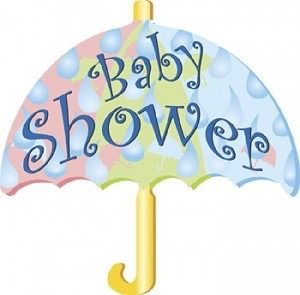 Miss Olena's Baby Shower umbrella