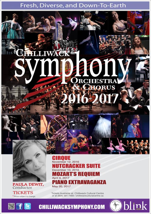 Chilliwack Symphony Orchestra Season 2016-17 Nutcracker Suite with Fraser Valley Academy of Dance