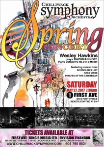 CSO Spring Concert 2017 Poster