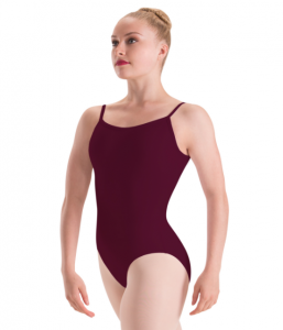 Burgundy leotard for FVAD Grade 6 Ballet 2017-18