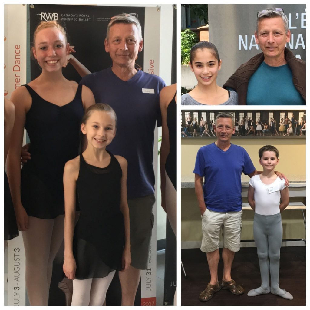 FVAD students invited to ballet company schools across Canada.