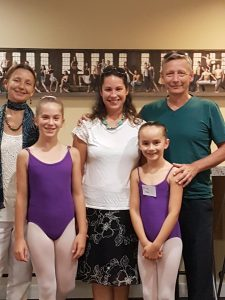 Summer Student Tour 2017 - School of Alberta Ballet visit