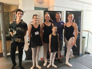 Summer Student Tour 2017 - visiting Royal Winnipeg Ballet School