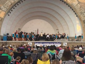 Summer Student Tour 2017 - Music Under the Stars at Toledo Zoo Amphitheatre