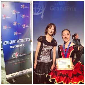 Miki with WBAC Artistic Director Chieko Dulepa