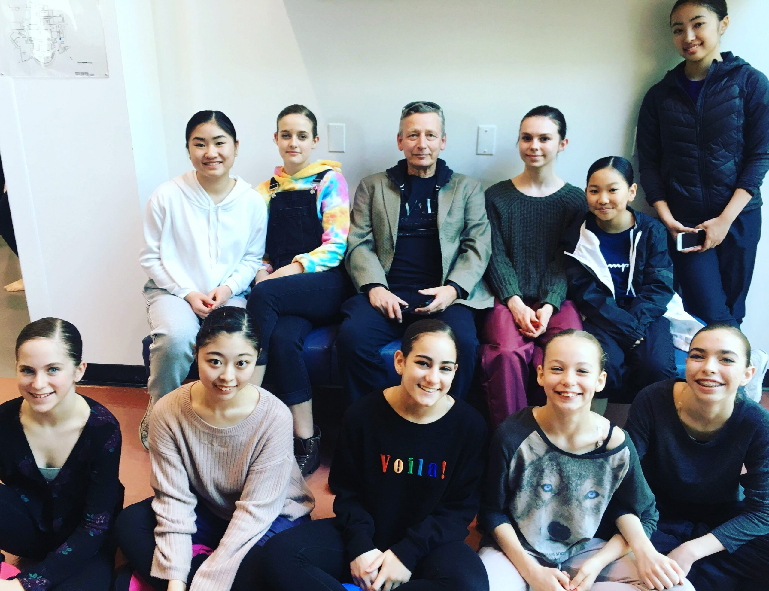 Senior Choreography perform at LamonDance Gala 2019
