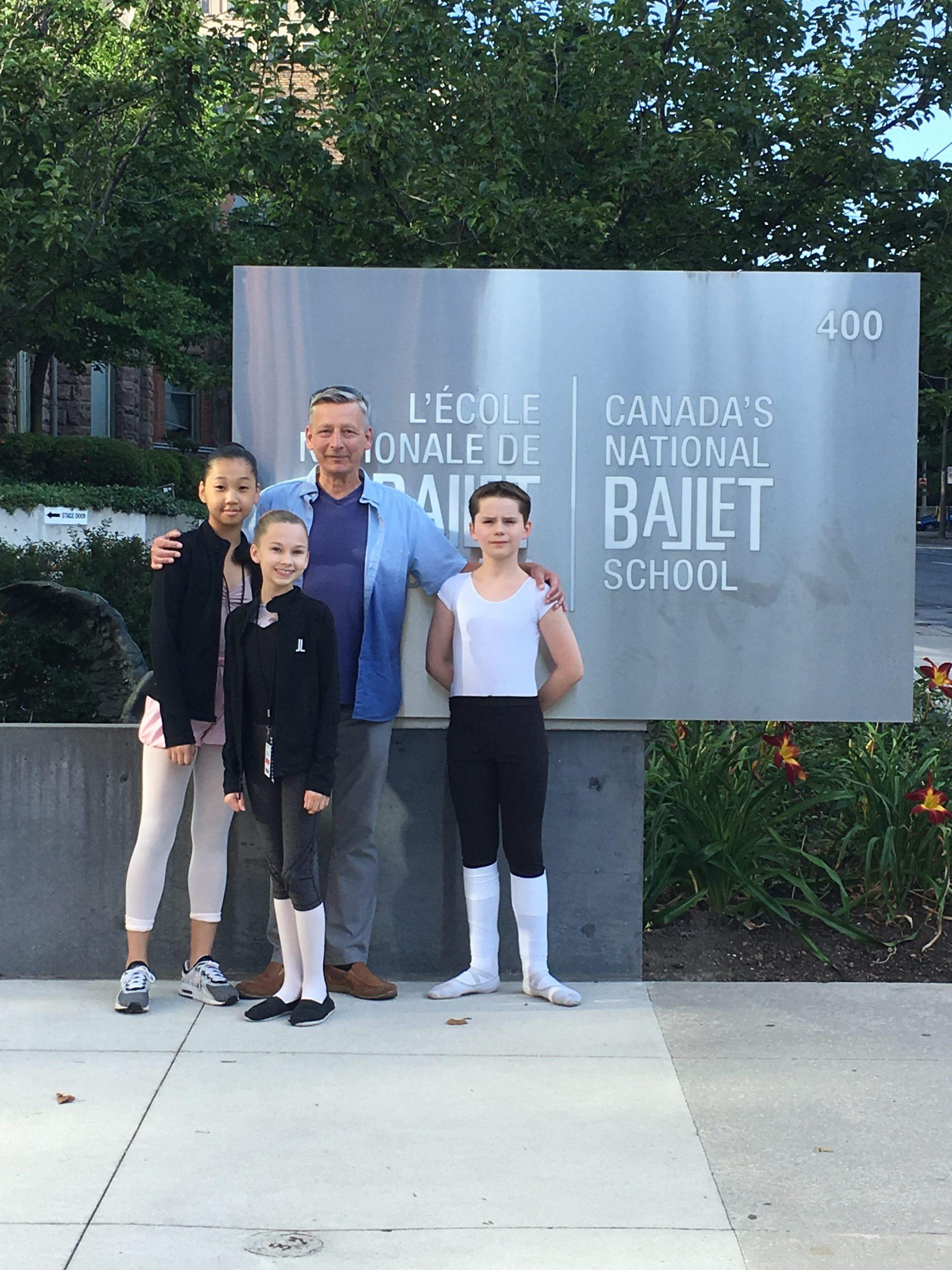FVAD at Canada's National Ballet School