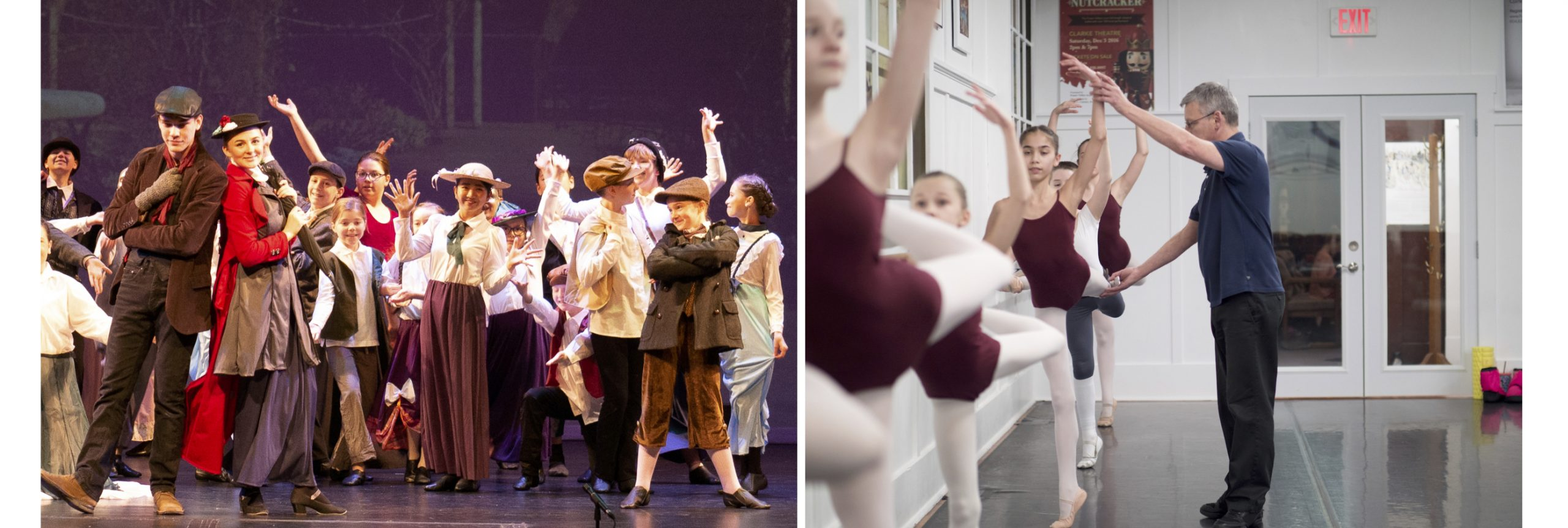 About us - Classical ballet, contemporary dance and musical theatre.
