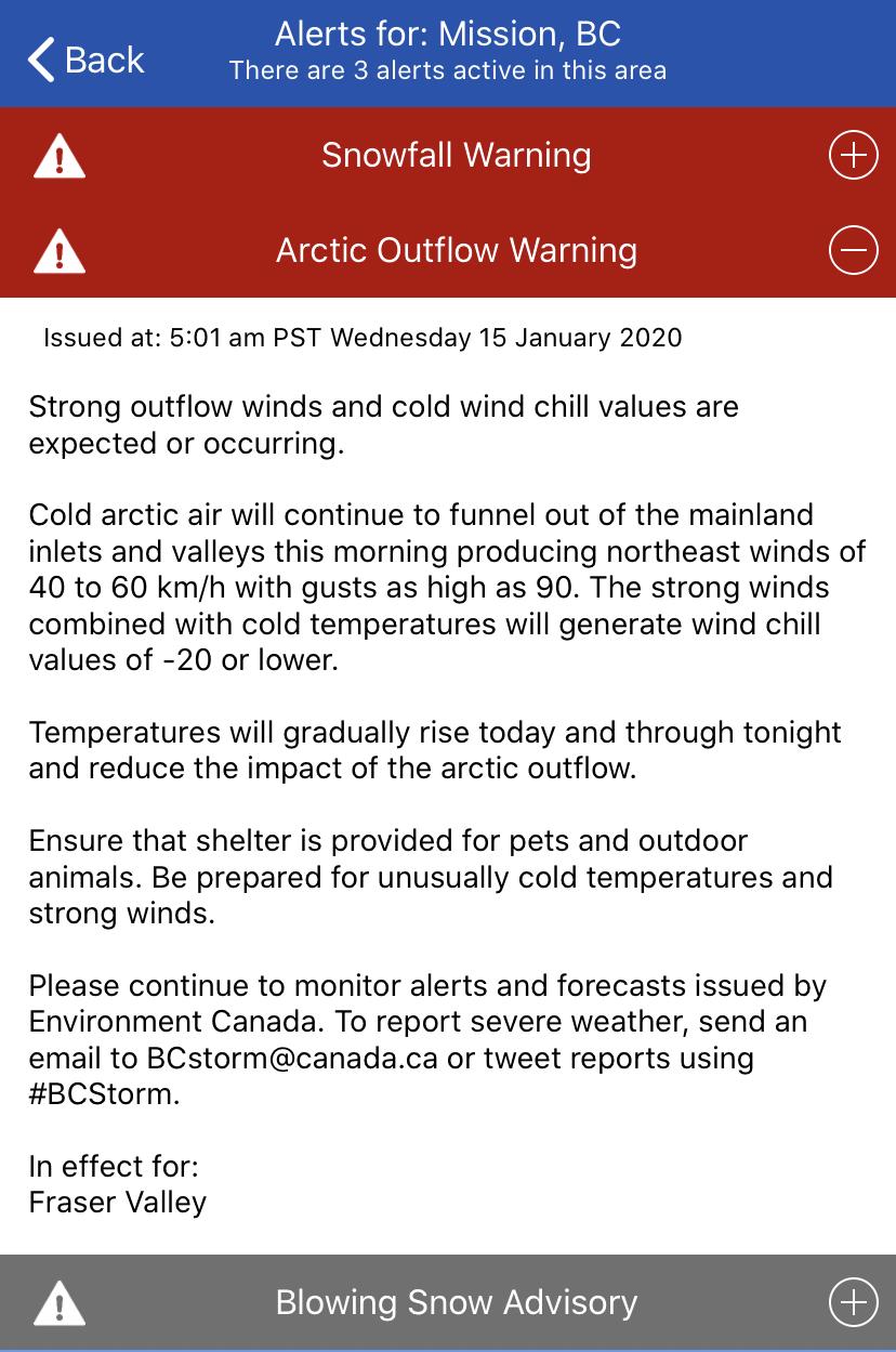 Environment Canada Alert 2 Jan 15 2020