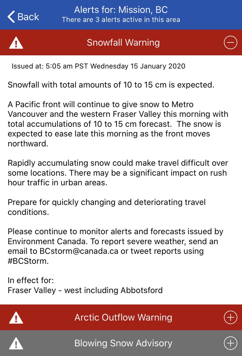 Environment Canada Alert 3 Jan 15 2020